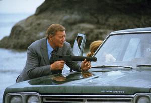 """""""McQ,"""" Warner Bros. 1973.John Wayne and Diana Muldaur. © 1978 David Sutton - Image 3587_0087"""
