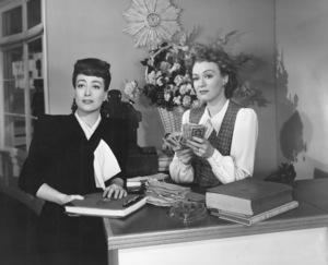 """""""Mildred Pierce""""Joan Crawford, Eve Arden1945 Warner Brothers**I.V. - Image 3593_0026"""