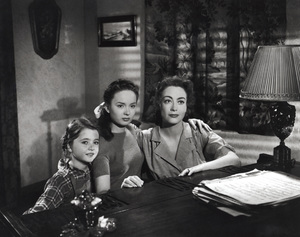 """Mildred Pierce""Jo Ann Marlowe, Ann Blyth, Joan Crawford1945 Warner Brothers**I.V. - Image 3593_0027"