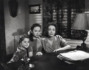 """Mildred Pierce""Jo Ann Marlowe, Ann Blyth, Joan Crawford1945 Warner Brothers**I.V. - Image 3593_0027"