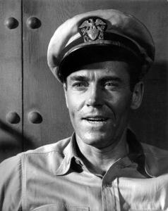 "Henry FondaFilm Set""Mister Roberts"" (1948)Copyright John Swope Trust / MPTV - Image 3595_0106"
