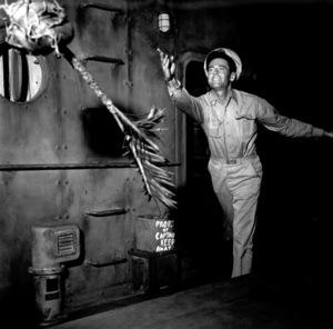 "Henry FondaFilm Set""Mister Roberts"" 1948Copyright John Swope Trust / MPTV - Image 3595_0108"