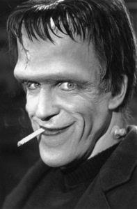 """""""The Munsters"""" Fred Gwynne1964 CBS © 1978 Bob Willoughby - Image 3600_0109"""