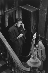 """The Munsters"" Fred Gwynne, Yvonne De Carlo1964 CBS © 1978 Bob Willoughby - Image 3600_0113"