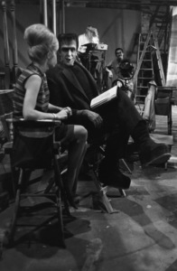 """""""The Munsters""""Fred Gwynne on the set1964© 1978 Bob Willoughby - Image 3600_0139"""