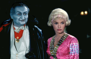 """The Munsters""Beverley Owen, Al Lewis1964 © 1978 Bob Willoughby - Image 3600_0183"