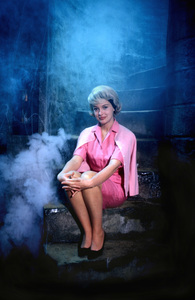"""""""The Munsters""""Beverley Owen1964 © 1978 Bob Willoughby - Image 3600_0186"""