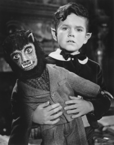 """""""The Munsters""""Butch Patrick with Wolfiecirca 1964** Part of the Kevin Burns Collection - Image 3600_0192"""