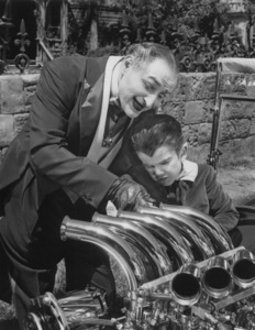 """""""The Munsters""""Al Lewis and Butch Patrickcirca 1964** Part of the Kevin Burns Collection - Image 3600_0195"""