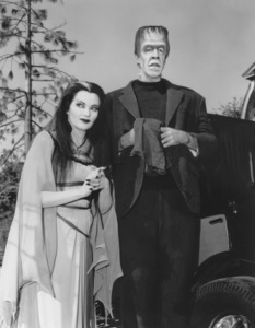 """""""The Munsters""""Yvonne De Carlo and Fred Gwynnecirca 1964** Part of the Kevin Burns Collection - Image 3600_0202"""