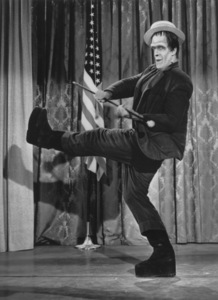 """""""The Munsters""""Fred Gwynnecirca 1964** Part of the Kevin Burns Collection - Image 3600_0203"""
