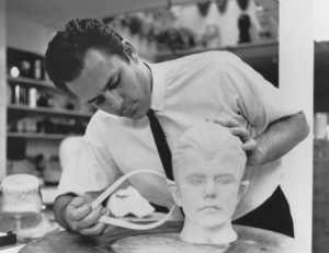 """""""The Munsters""""Mike Westmore (make-up man)circa 1964** Part of the Kevin Burns Collection - Image 3600_0207"""