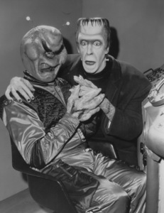 """The Munsters""Fred Gwynne and Aliencirca 1964** Part of the Kevin Burns Collection - Image 3600_0209"