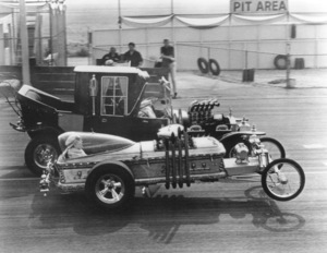 """""""The Munsters""""Car Racecirca 1964** Part of the Kevin Burns Collection - Image 3600_0212"""