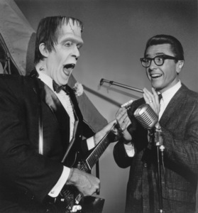"""""""The Munsters""""Fred Gwynne and Gary Owenscirca 1964** Part of the Kevin Burns Collection - Image 3600_0215"""