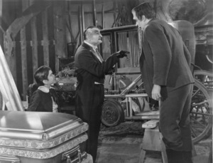 """""""The Munsters""""Butch Patrick, Al Lewis and Fred Gwynnecirca 1964** Part of the Kevin Burns Collection - Image 3600_0226"""