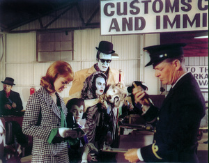 """""""Munster, Go Home""""Debbie Watson, Butch Patrick, Yvonne De Carlo, Fred Gwynnecirca 1966** Part of the Kevin Burns Collection - Image 3600_0265"""