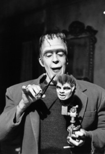 """""""The Munsters""""Fred Gwynnecirca 1965** Part of the Kevin Burns Collection - Image 3600_0272"""