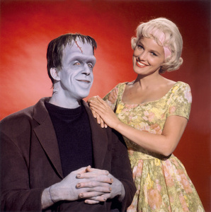 """""""The Munsters""""Fred Gwynne, Beverley Owencirca 1964** Part of the Kevin Burns Collection - Image 3600_0279"""