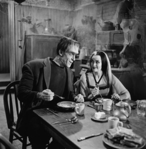 """""""The Munsters""""Fred Gwynne, Yvonne De Carlocirca 1964** Part of the Kevin Burns Collection - Image 3600_0287"""