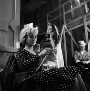 """""""The Munsters""""Beverley Owen, Yvonne De Carlocirca 1964** Part of the Kevin Burns Collection - Image 3600_0290"""