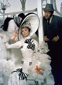 """My Fair Lady"" Audrey Hepburnand Rex Harrison / 1964 / Warner Bros.Photo by Mel Traxel - Image 3604_0100"