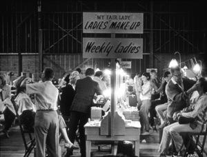 """My Fair Lady""Make-Up Session1964 Warner Bros.  - Image 3604_0204"