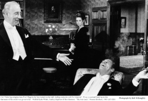 """My Fair Lady""Wilfrid Hyde-White, Rex Harrison, Audrey Hepburn1963 / Warner Brothers © 1978 Bob Willoughby - Image 3604_0609"