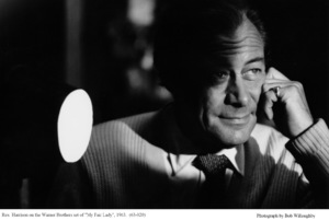 """""""My Fair Lady""""Rex Harrison1963 / Warner Brothers © 1978 Bob Willoughby - Image 3604_0610"""