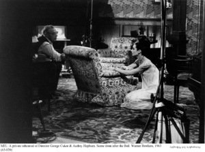 """My Fair Lady""Dir. George Cukor, Audrey Hepburn1963 / Warner Brothers © 1978 Bob Willoughby - Image 3604_0641"