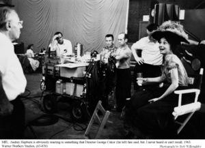 """My Fair Lady""Dir. George Cukor, Audrey Hepburn 1963 / Warner Brothers © 1978 Bob Willoughby - Image 3604_0646"