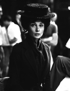 """Audrey Hepburn on the set  of """"My Fair Lady"""" 1963© 1978 Chester Maydole - Image 3604_0700"""