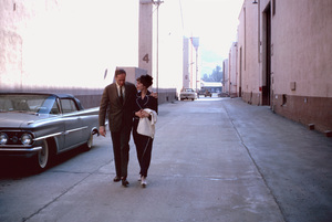 """My Fair Lady"" Audrey Hepburn, Mel Ferrer Warner Bros. 1964 © 1978 Bob Willoughby - Image 3604_0750"
