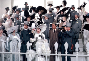 """My Fair Lady""Audrey Hepburn, Jeremy Brett, Rex HarrisonWarner Bros.  1964 © 1978 Bob Willoughby - Image 3604_0751"