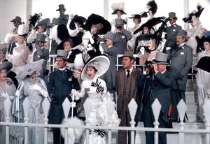 """My Fair Lady""Audrey Hepburn, Jeremy Brett, Rex HarrisonWarner Bros.  1964 © 1978 Bob Willoughby - Image 3604_0751"