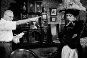 """My Fair Lady""Audrey Hepburn, Dir. George CukorWarner Bros.  1964 © 1978 Bob Willoughby - Image 3604_0761"