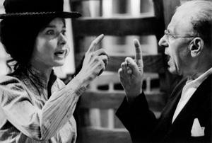 """My Fair Lady""Audrey Hepburn, director George Cukor1964 Warner Brothers © 1978 Bob Willoughby - Image 3604_0775"