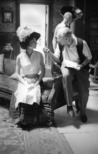 """My Fair Lady""Audrey Hepburn, director George Cukor1964** I.V. - Image 3604_0799"