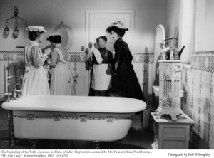"""My Fair Lady""Mona Washbourne, Audrey Hepburn1963 / Warner Brothers © 1978 Bob Willoughby - Image 3604_0821"
