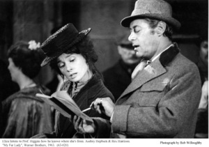 """My Fair Lady""Audrey Hepburn, Rex Harrison1963 / Warner Brothers © 1978 Bob Willoughby - Image 3604_0829"