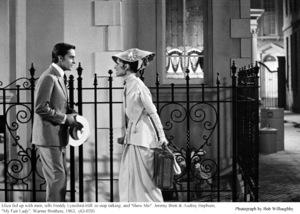 """My Fair Lady""Jeremy Brett, Audrey Hepburn1963 / Warner Brothers © 1978 Bob Willoughby - Image 3604_0841"