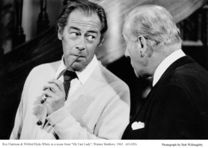 """""""My Fair Lady""""Rex Harrison, Wilfrid Hyde-White1963 / Warner Brothers © 1978 Bob Willoughby - Image 3604_0842"""