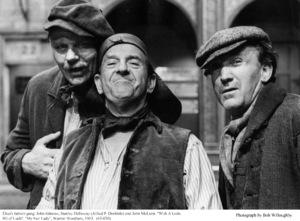 """My Fair Lady""John Alderson, Stanley Holloway, John McLiam1963 / Warner Brothers © 1978 Bob Willoughby - Image 3604_0850"