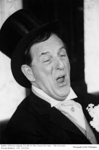 """""""My Fair Lady""""Stanley Holloway1963 / Warner Brothers © 1978 Bob Willoughby - Image 3604_0852"""