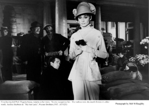 """""""My Fair Lady""""Audrey Hepburn1963 / Warner Brothers © 1978 Bob Willoughby - Image 3604_0855"""