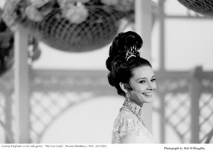 """""""My Fair Lady""""Audrey Hepburn1963 / Warner Brothers © 1978 Bob Willoughby - Image 3604_0858"""