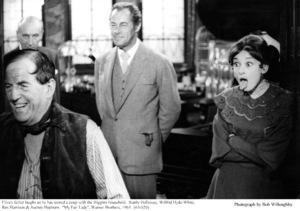 """My Fair Lady""Stanley Holloway, Wilfrid Hyde-White, Rex Harrison, Audrey Hepburn.  1963 / Warner Brothers. © 1978 Bob Willoughby - Image 3604_0861"