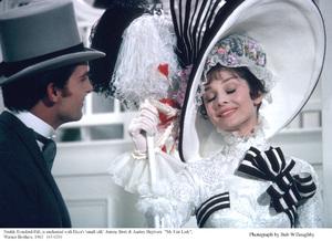 """My Fair Lady""Jeremy Brett, Audrey Hepburn1963 / Warner Brothers © 1978 Bob Willoughby - Image 3604_0867"