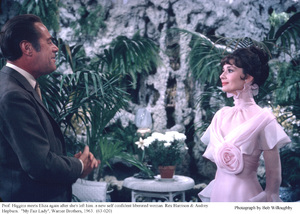 """My Fair Lady""Rex  Harrison, Audrey Hepburn1963 / Warner Brothers © 1978 Bob Willoughby - Image 3604_0869"
