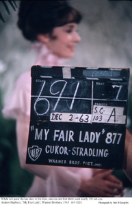 """""""My Fair Lady""""Audrey Hepburn1963 / Warner Brothers © 1978 Bob Willoughby - Image 3604_0871"""